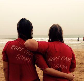 Surf school Ghana #eatsurfsleeprepeat